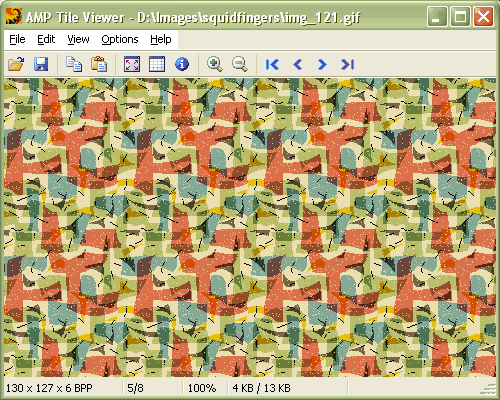 Windows 7 Portable AMP Tile Viewer 2.01 full