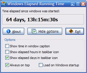 Windows 7 Windows Elapsed Running Time 1.6.0 full